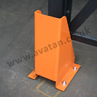 Pallet racking column guard rack protection