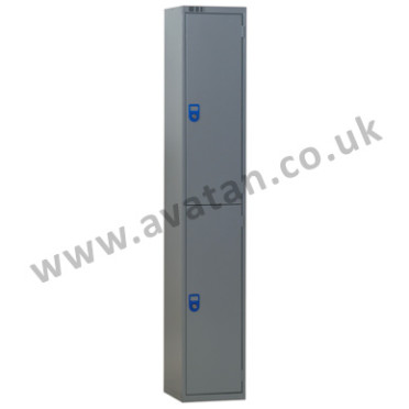 Steel compartment locker two door lockable