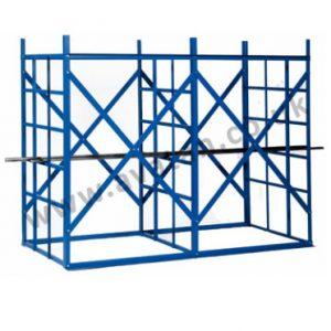 Steel storage pigeon hole rack