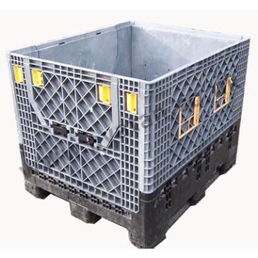Plastic box pallet folding sides Magnum Used