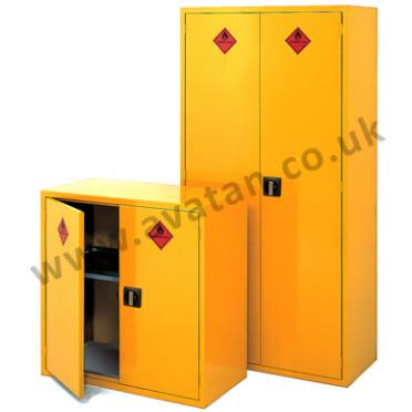 Steel storage cupboards cabinets Hazchem lockable