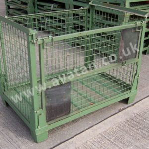 SHC91 Used Euro collapsible cage pallet Gitterbox