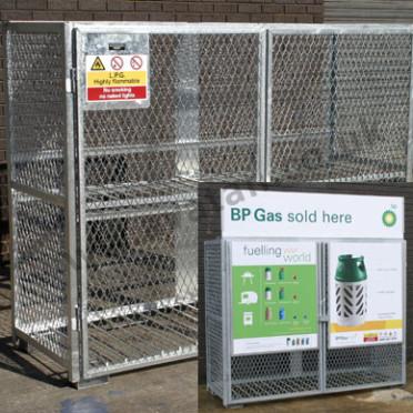 Gas Bottle Cylinder Stillage Steel Cage Pallet