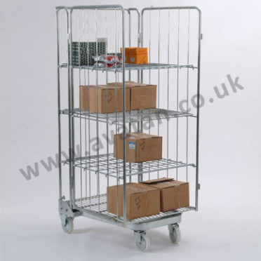 Roll container Nestable A frame open front Roll Cage
