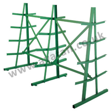 Steel Storage horizontal bar rack