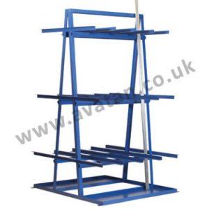Steel storage vertical bar rack