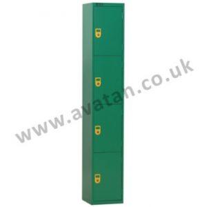 Secure Steel Compartment locker four door lockable