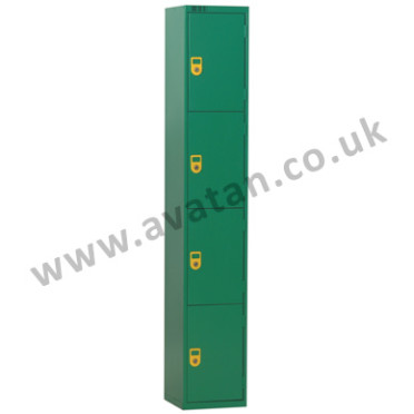 Secure Steel Compartment locker four door lockable