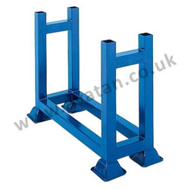 Steel storage bar cradle stillage stackable