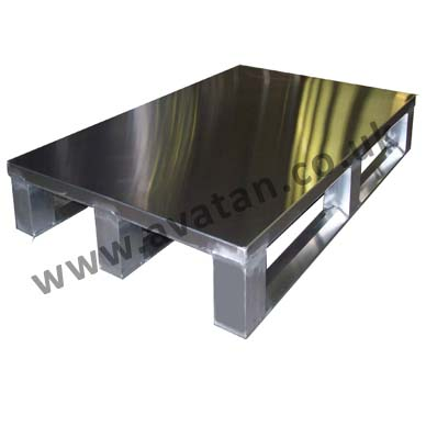 Hygienic Aluminium Pallet Food Pharmaceutical Sheet Top