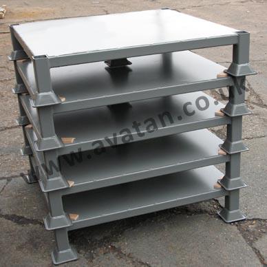 Four Way Entry Heavy Duty Steel Pallet Avatan