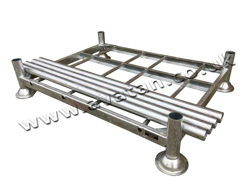 Postrack Galvanised With Removable Posts Round Tube