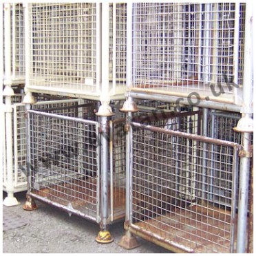 Used Heavy Duty Cage pallet stillage Ex MOD