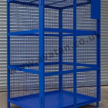 Distribution Cage Pallet Lockable Steel Stillage