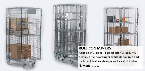 Roll Containers Rolling Cages Roller Pallets