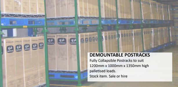 Postrack Demountable Post Pallet Range