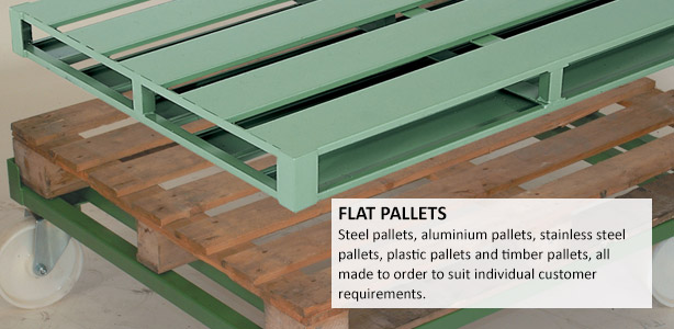 Flat Steel Pallets Range of Metal Pallets