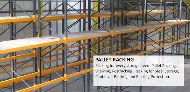 Pallet Racking & Shelving New & Used Range