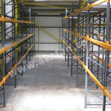 Pallet racking wide isle new used