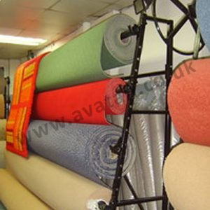 Carpet rack single sided 4m roll