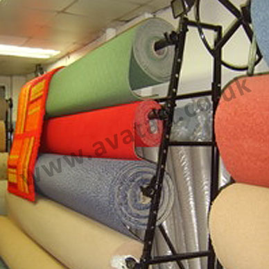 Carpet rack single sided 4m roll