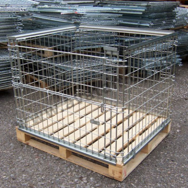 Retention Unit Stackable Pallet Converter half gate