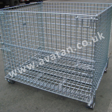 CubiCage Hypacage heavy duty folding cage stillage