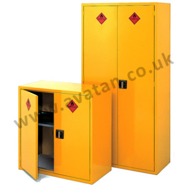 Steel storage cupboards cabinets Hazchem lockable