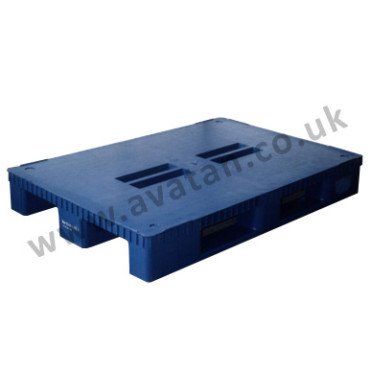 Euro Plastic pallet moulded heavy duty