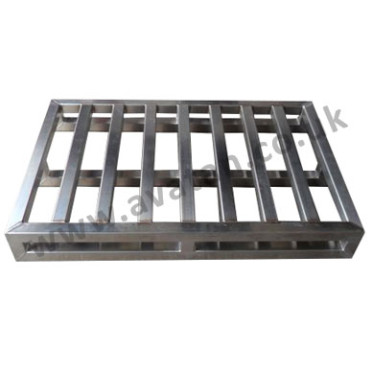 Pallet stainless steel heavy duty Hygienic