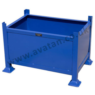 Rigid Box Pallet Amp Steel Stillages With Fixed Sides Avatan