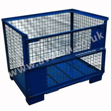 Euro Cage Pallet Gitter Box Mesh Stillage In Stock