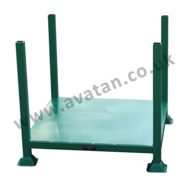 Post pallet stillage fixed posts sheet deck