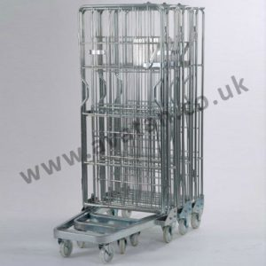 Roll Container nestable A frame nested