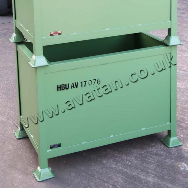 Steel Box Pallet Stencil Identification or SWL