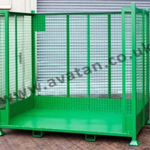 Cargo Stillage Heavy Duty Braced Mesh Sides