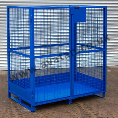 Mesh Cage Pallet - Distribution Stillage With Kick Protection