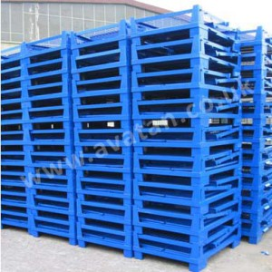 Euro 91 Cage pallet folded cr wm