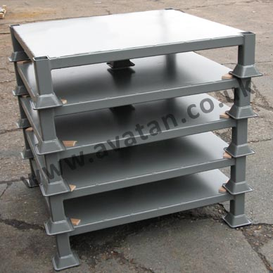 Four Way Entry Heavy Duty Steel Pallet Avatan