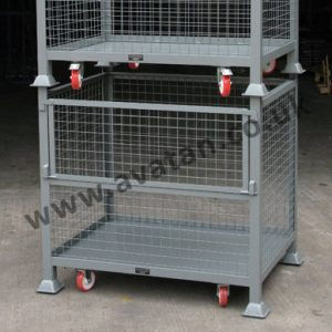 HD Cage Pallet Half Drop Gate Mobile