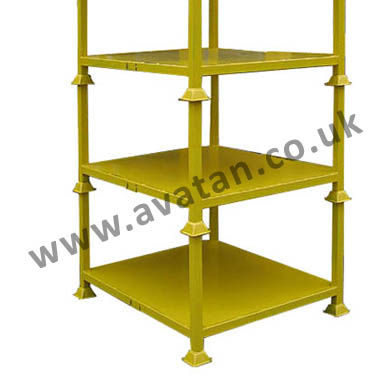 Steel Post Pallet Rigid Metal Stillage
