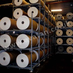Postrack Heavy Duty Paper Roll Storage Demountable