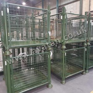 Used Ex Ministry of Defence Heavy Duty Steel Cage Pallet