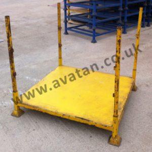 Used Steel Post Pallet demountable