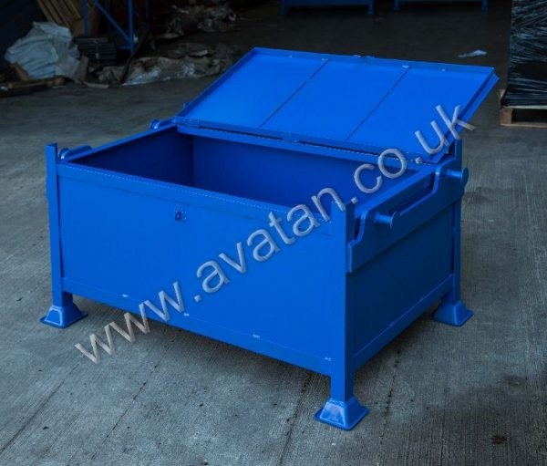 Crane lift secure box pallet heavy duty lifting profile