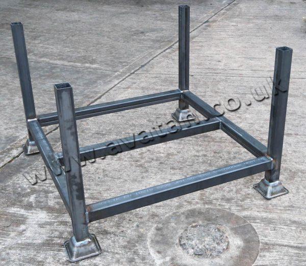 Scaffolding Post Pallet Unpainted Low Cost