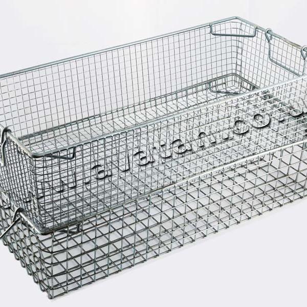 Tote Pan Stackable Mesh Basket Avatan Handling Equipment Ltd