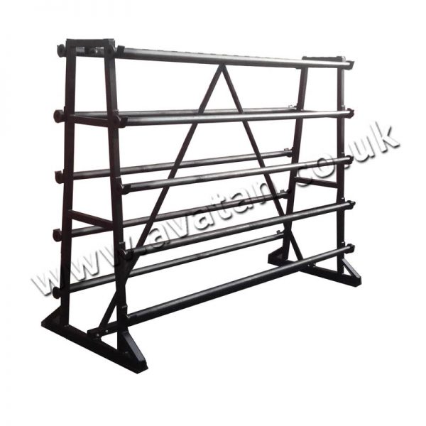 Vinyl Rack 10 Roll Static Or Mobile On Castors