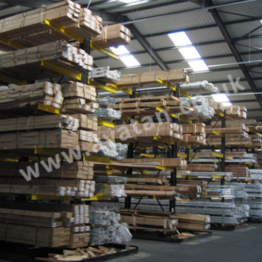 Cantilever Racking Adjustable Heavy Duty Timber & Steel Storage
