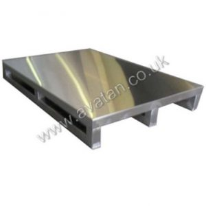 Stainless steel pallet sheet top heavy duty